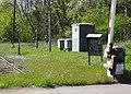 État de la section de Saint-Saulve à Blanc-Misseron de la ligne de Douai à Blanc-Misseron au 16 avril 2014 (120, PN 170 & gare d'Onnaing).JPG
