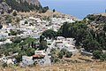 Белые домики Линдоса. Rodos. Greece. Июнь 2014 - panoramio.jpg