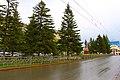 Бульвар в районе гостиницы Томск-I.jpg