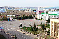 The center of Kokshetau