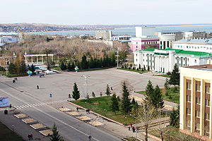 Akmola Region - The center of Kokshetau