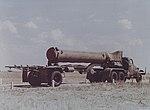 Ракета Р-11 в походном положении.jpg