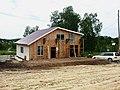 Строящийся дом в поселке УНИВЕРСИТЕТСКИЙ рядом с Академгородком Новосибирска 03.jpg