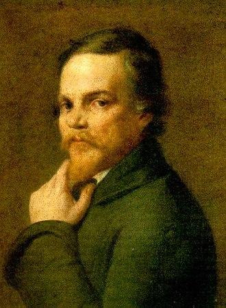 Nikolay Yazykov - Nikolay Yazykov; portrait by Emmanuil Dmitriev-Mamonov.
