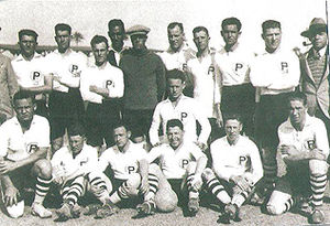 Mandatory Palestine national football team - Mandatory Palestine during its tour in Egypt in 1931.