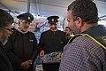 اهداء پرچم حرم علی بن موسی الرضا به هیئت ها یا موکب های مستقر در شهر مهران در ایام پیاده روی اربعین 32.jpg