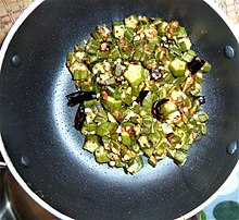 Telugu cuisine wikipedia okra plain curry made in a house of andhra pradesh vijayawada forumfinder Image collections