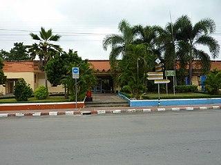 Ban Pong railway station