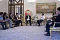 สมาคมผู้ประกอบวิชาชีพสื่อมวลชนพบนายกรัฐมนตรี ณ ห้องสีม - Flickr - Abhisit Vejjajiva.jpg