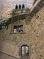 014 Castell de Púbol (Casa Museu Gala Dalí), obertures de la façana del pati.jpg