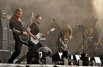 Emperor (band) - Image: 02 08 2014 Emperor at Wacken Open Air 2014 Jonas R 03