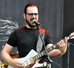 "02-08-2014-Vegard ""Ihsahn"" Tveitan with Emperor at Wacken Open Air 2014.jpg"