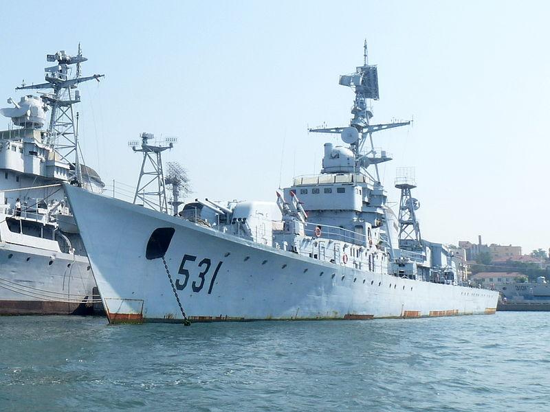 ЗРК китайского флота, Ч.1