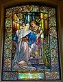 07 Jesus in the Temple, Knowles Memorial Window, 1903, Tiffany Studios - Arlington Street Church - Boston, Massachusetts - DSC06974.jpg
