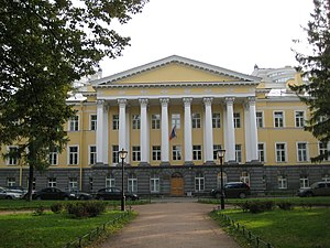 Preobrazhensky Regiment - Preobrazhnesky Barracks in St. Petersburg