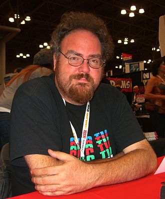 Collider (website) - Heroes host Jon Schnepp at the 2012 New York Comic-Con