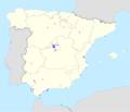 100 montaditos footprint in Spain and Andorra.png