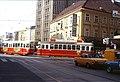 101R15050583 Landstrasser Hauptstrasse, Blick Richtung Rochusmarkt stadteinwärts, Strassenbahn Linie J, Typ L 538.jpg