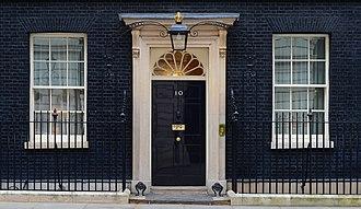 10 Downing Street - Image: 10 Downing Street. MOD 45155532