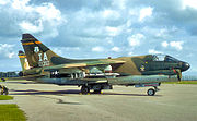 124th Tactical Fighter Squadron A-7D 70-1010 Iowa ANG
