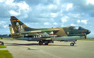 124th Fighter Squadron - 124th Tactical Fighter Squadron A-7D 70-1010 about 1979