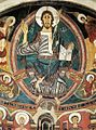 12th-century unknown painters - Majestas Domini with Evangelists and Saints (detail) - WGA19690.jpg
