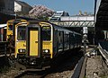 150258 and 150231 pass each other at Pontypridd Station (16511355904).jpg