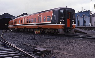 IE 2600 Class - 2601 at Dublin Heuston in June 1995