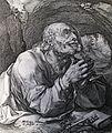 161 Life of Christ Phillip Medhurst Collection 4284 St Peter Mark 3.16 Goltzius.jpg