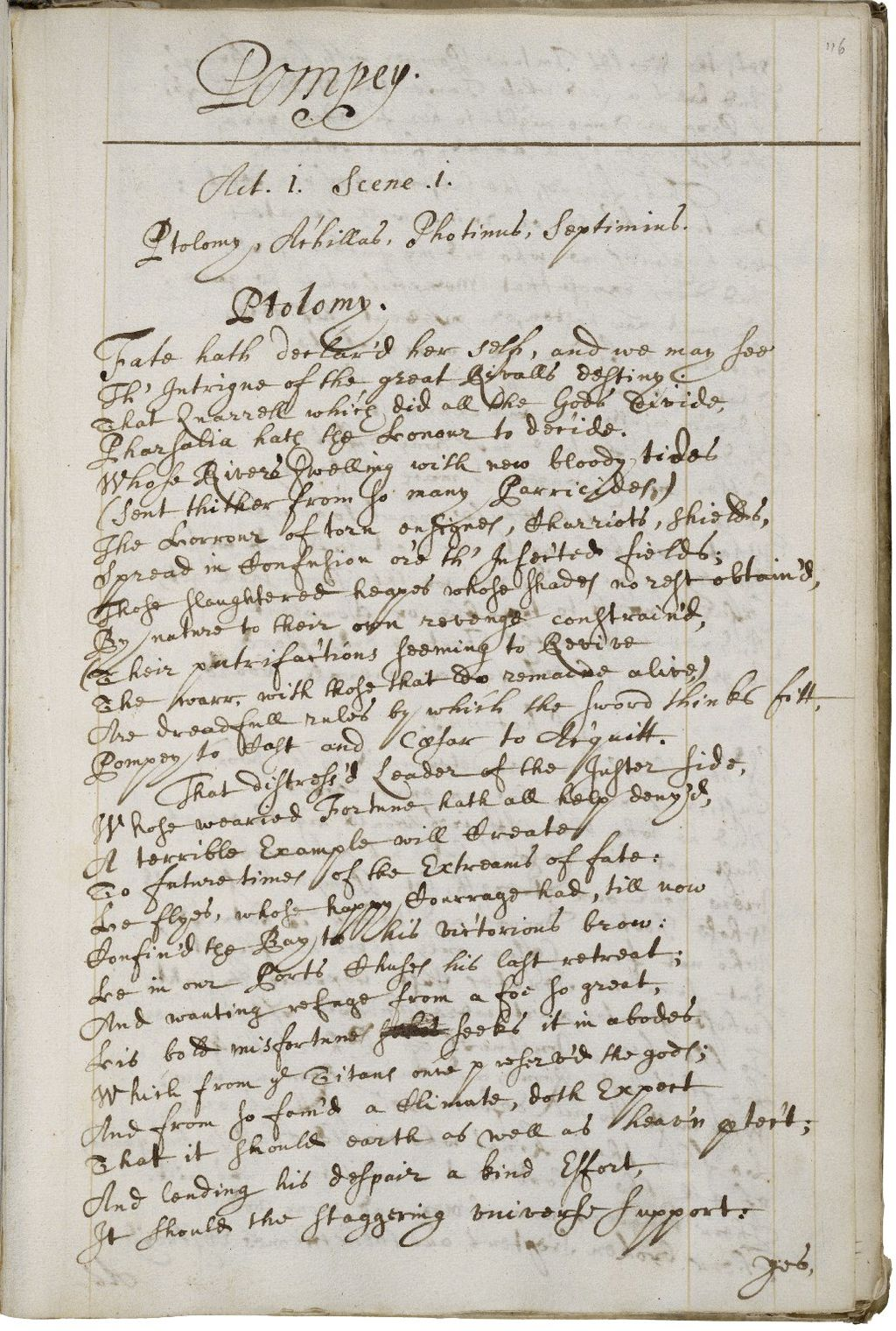 1670 Philips manuscript