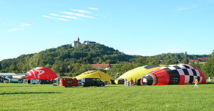 Bad Colberg-Heldburg - 17th Thuringian Montgolfiade in August 2011