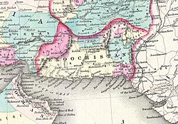 1855 Colton Map of Balochistan.jpg