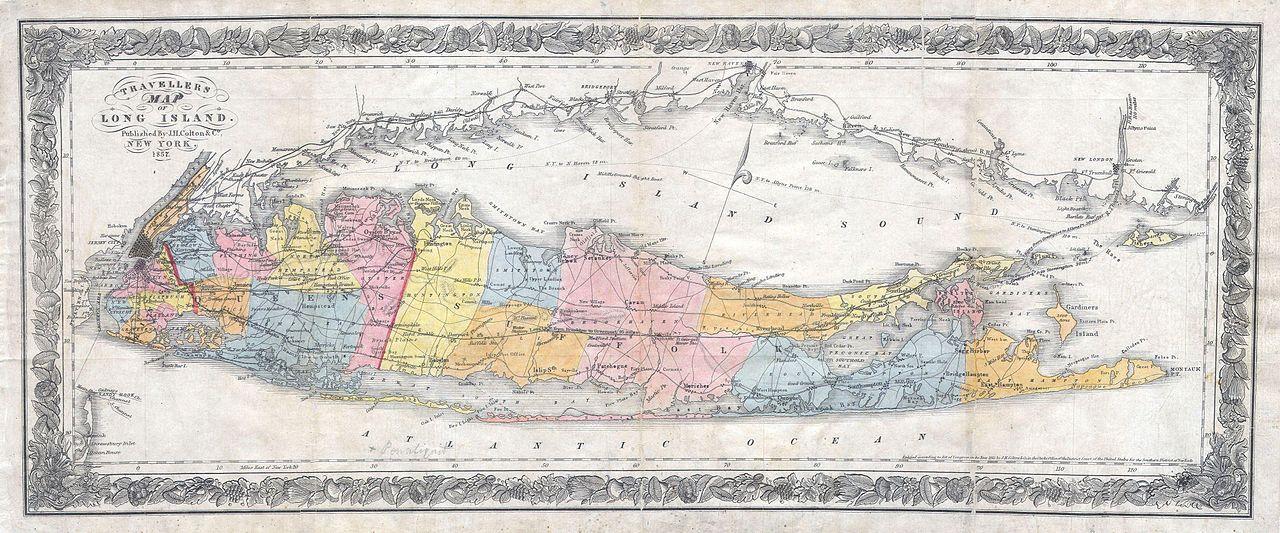 History Indians Long Island