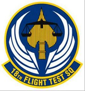 18th Flight Test Squadron - Image: 18th Flight Test Squadron