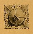 1901, Hierros artísticos, vol. 1, Arte castellano, Chatones de puerta, lámina 44, Labarta (cropped).jpg