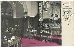 Central-Hotel, Vintage postcards private collection [Public domain], via Wikimedia Commons