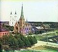 1912 год. Вид на кирху и костел - panoramio.jpg