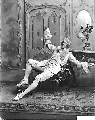 "Seymour Hicks - Hicks in ""A Court Scandal"", 1899"