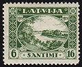 19281118 6sant Latvia Postage Stamp.jpg