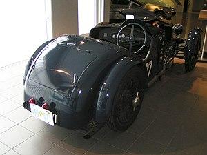 Tracta - Image: 1929Tracta A rear