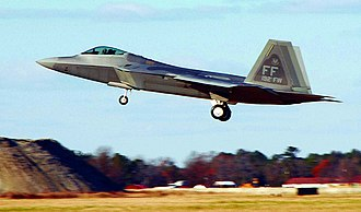 Virginia Air National Guard - 149th Fighter Squadron F-22 Raptor, Joint Base Langley–Eustis in VA ANG markings. The 149th  is the oldest unit in the Virginia Air National Guard, having over 70 years of service to the commonwealth and nation