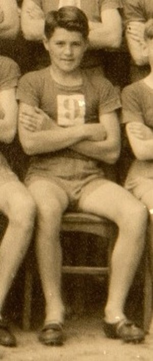 Dick Tooth - Schoolboy Tooth, member of the Newcastle Boys High squad, winners of the 1943 CHS Kerr Cup and Lintott Cup
