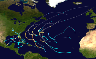 1950 Atlantic hurricane season hurricane season in the Atlantic Ocean