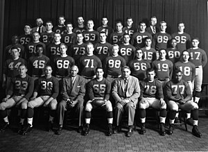 1954 Michigan Wolverines football team - Image: 1954 Michigan team