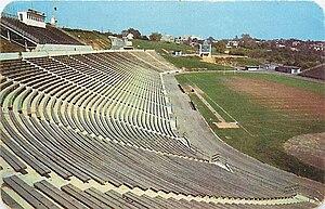 J. Birney Crum Stadium - Image: 1955 Allentown School District Stadium