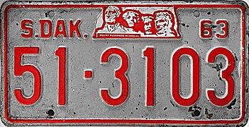 1963 South Dakota license plate.jpg