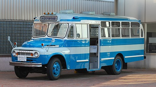 1963 Toyota Model FB80 Bus 01