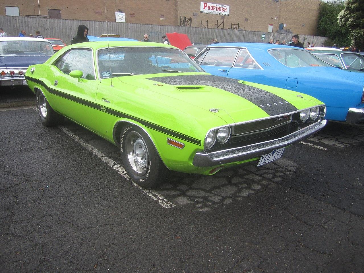 File 1970 Dodge Challenger Rt 383 Jpg Wikimedia Commons
