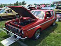 1974 AMC Gremlin X red with white stripes AMO 2015 meet 1of8.jpg