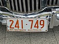 1979 Northern Territory registration plate 241♦749 Outback Australia.jpg